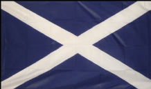 SCOTLAND ST ANDREW - 5 X 3 FLAG